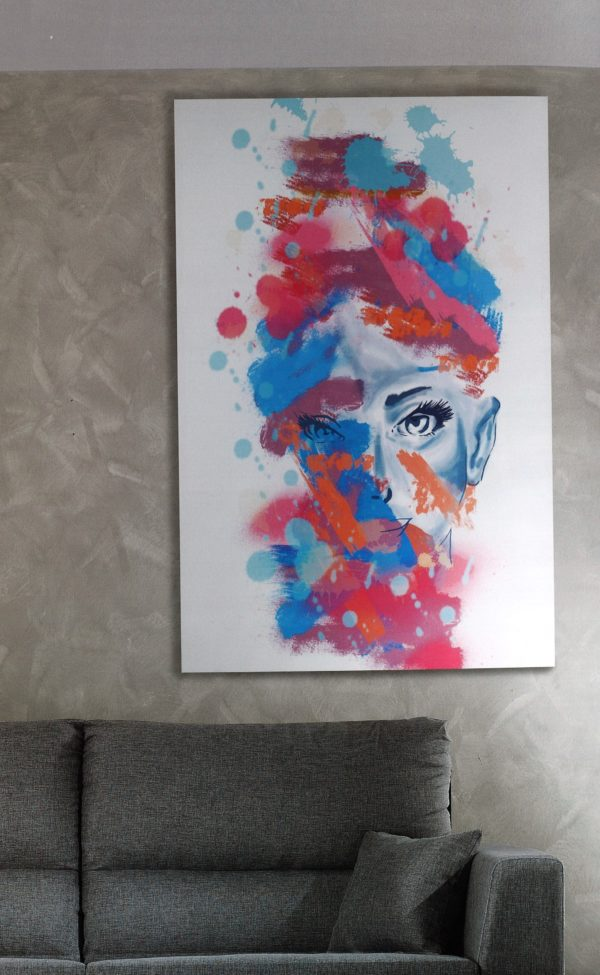 Color Woman Ritratto Ciciriello